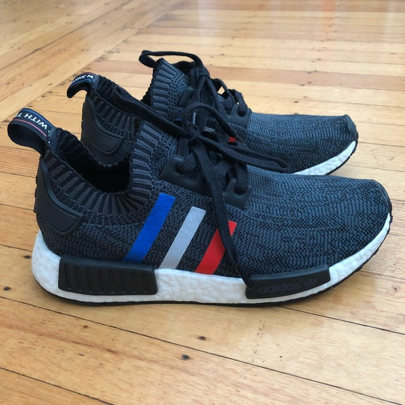48757a2a2 Adidas NMD R1 Tri Color Black- Size 7.5 (men s)